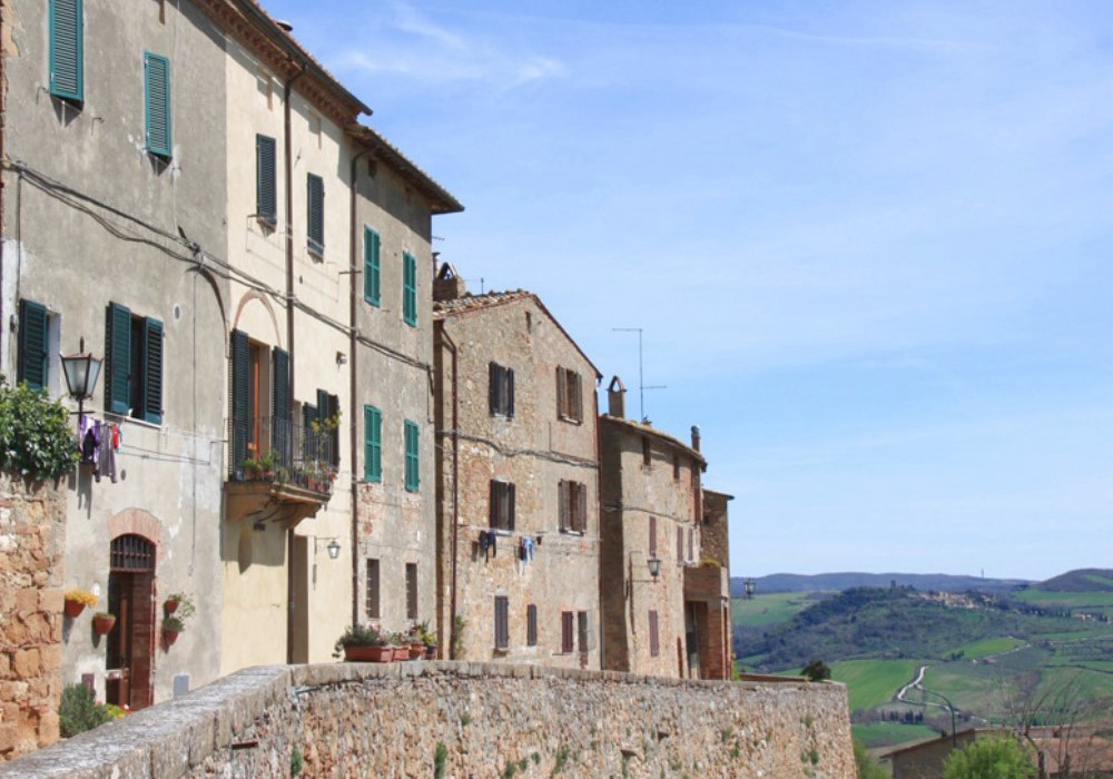 PIENZA   : THE IDEAL  CITY  